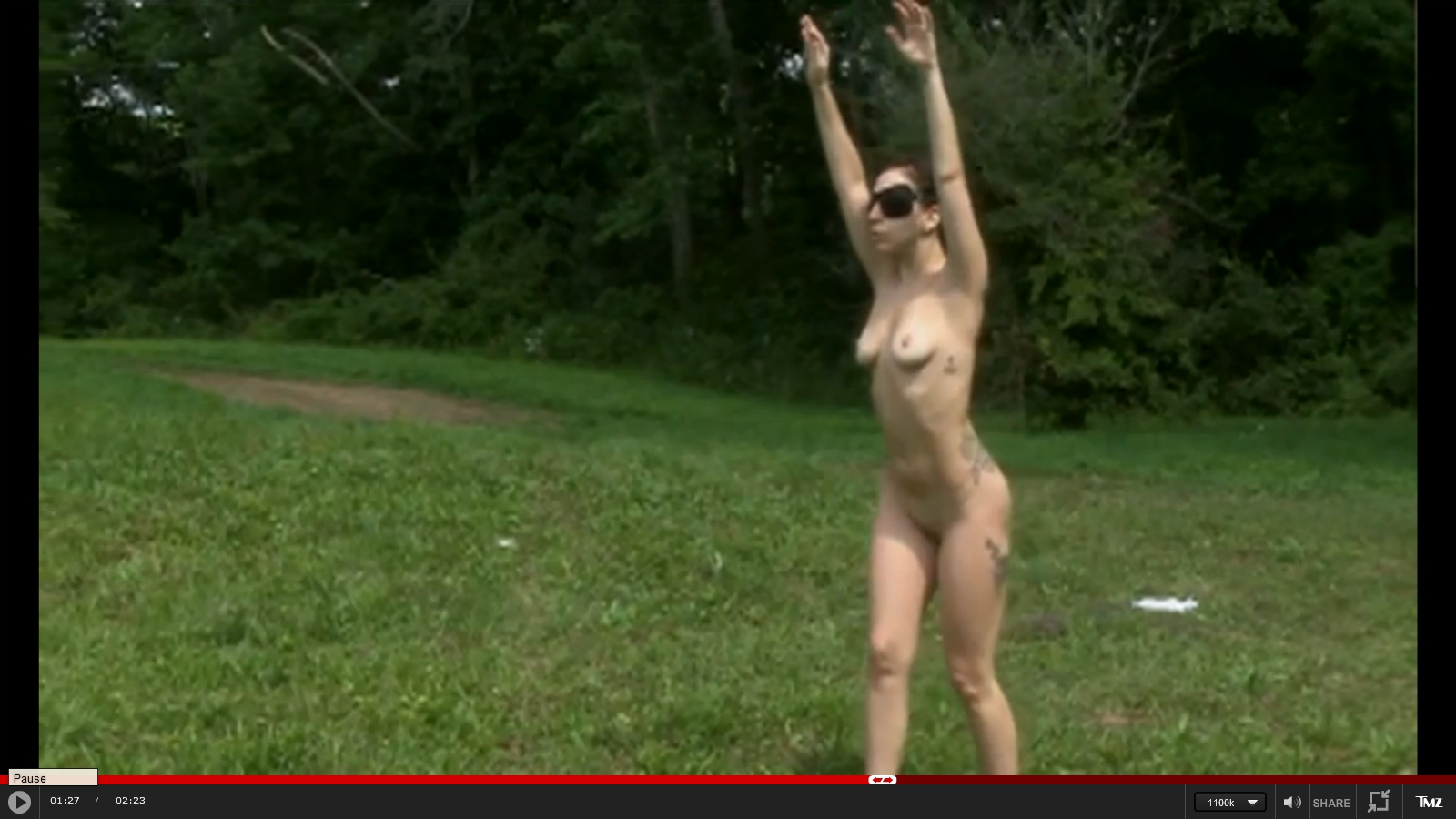 Lady Gaga Nude Full Frontal Nudity For Lady Gaga Video-4608